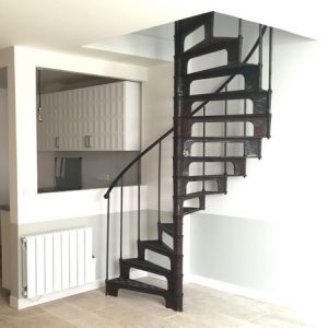 French antique staircase